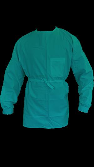 sur-blouse courte imperméable lavable réutilisable résistante