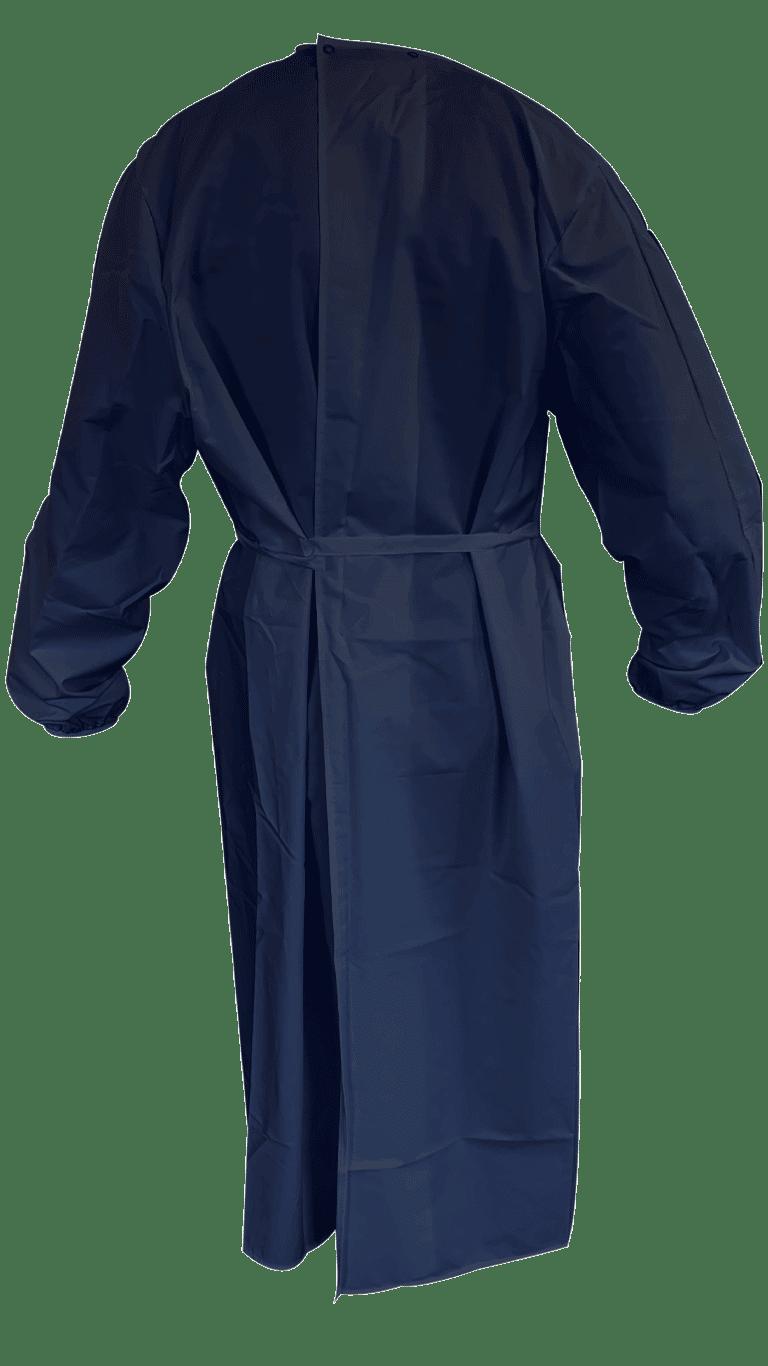 sur-blouse longue imperméable lavable réutilisable