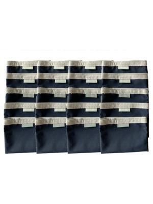 pochete protection lavable marine