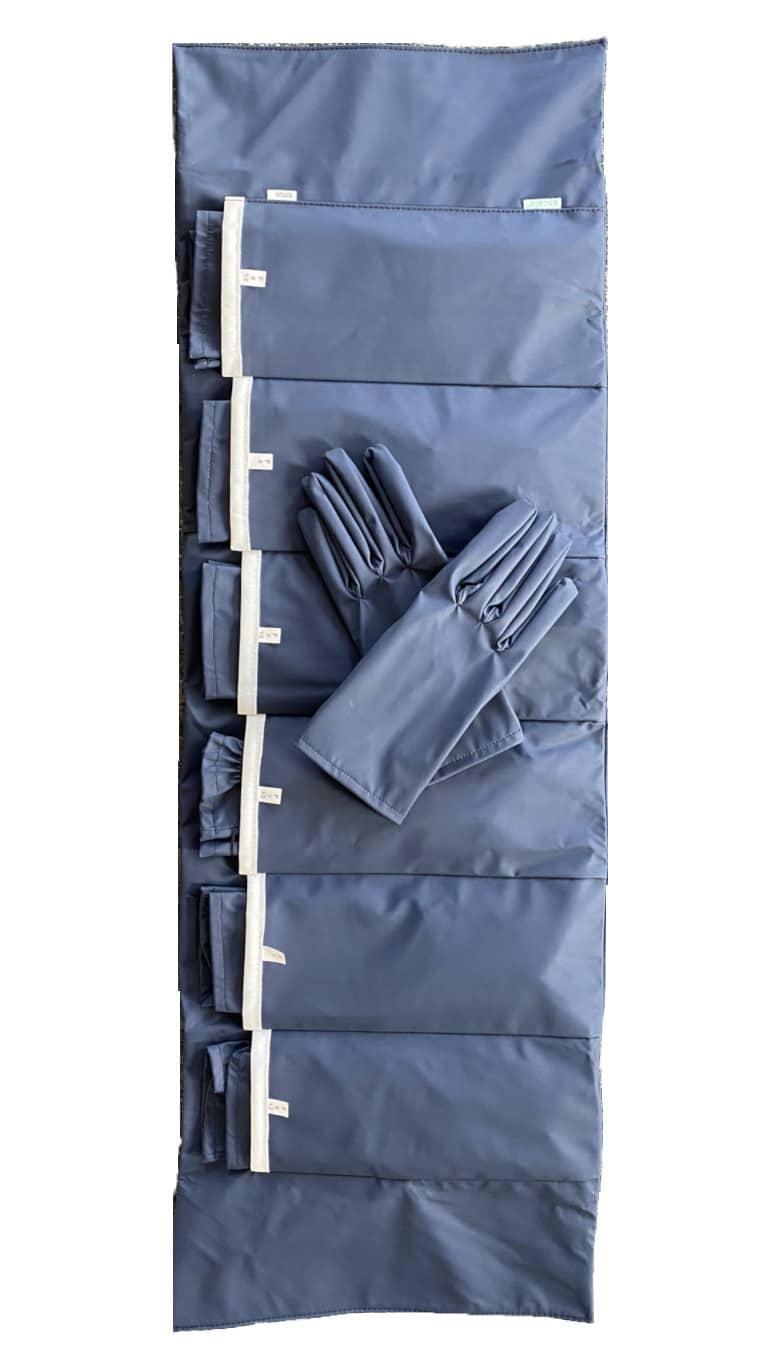 kit essayage gants lavables Femme